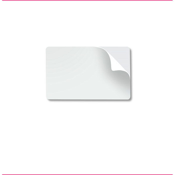 PVC - Adesivos para Cartões