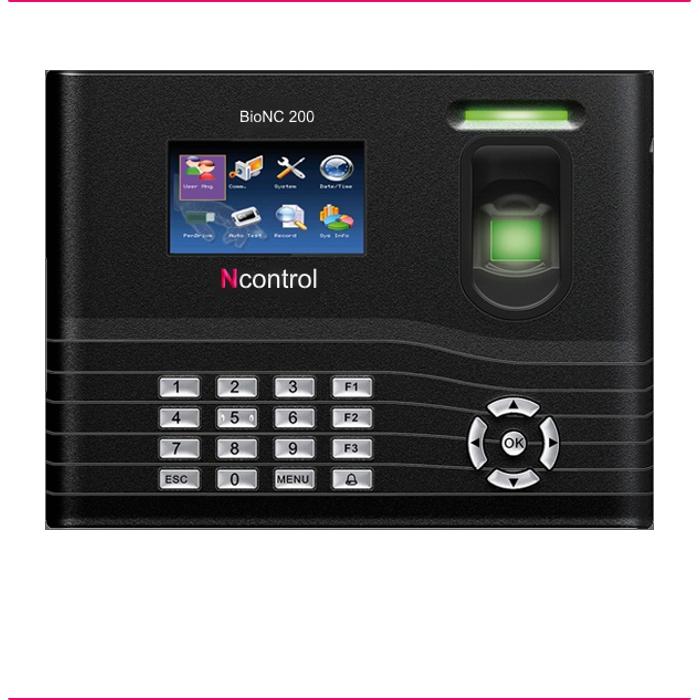 BioNC 200 Impressão Digital