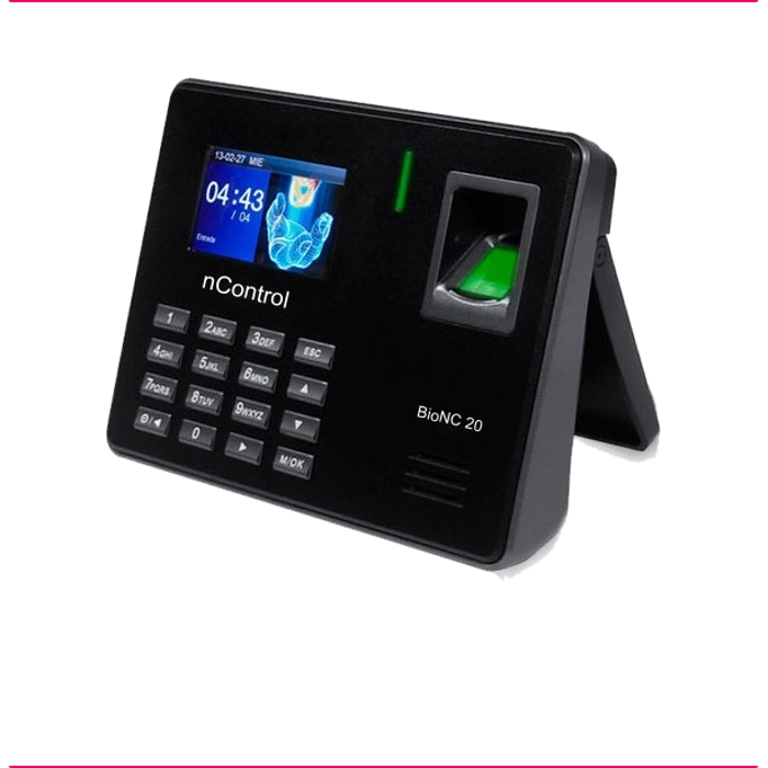 BioNC 20 - Impressão Digital