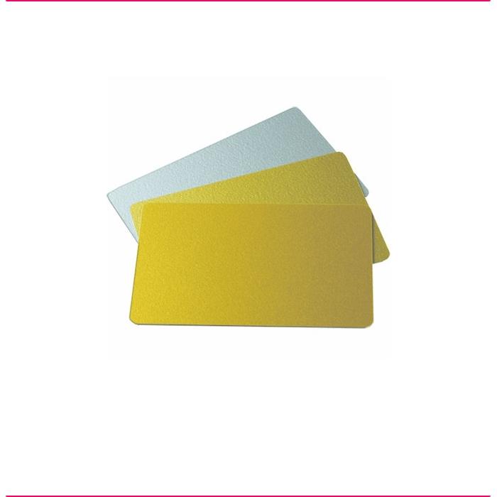 Cartões Prata e Ouro