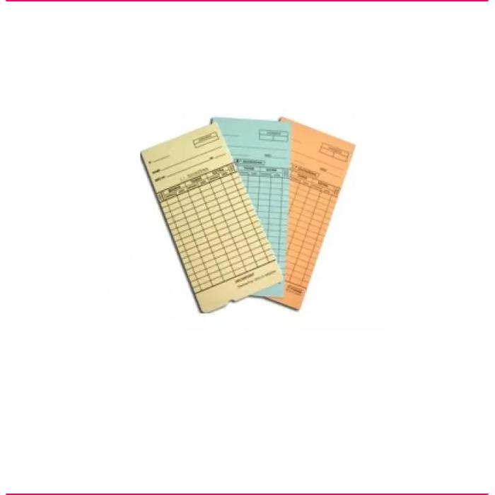 Cartões de Ponto Mensal