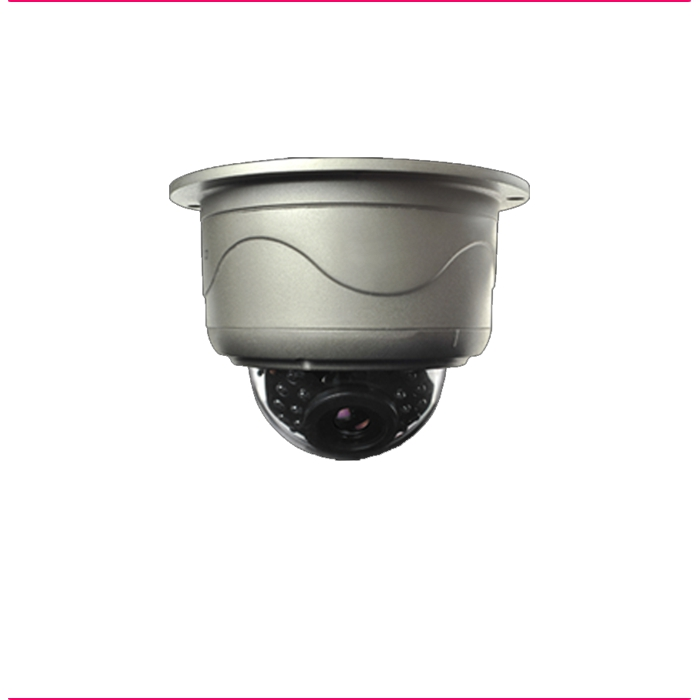 Câmara MD372 IR Dome IP