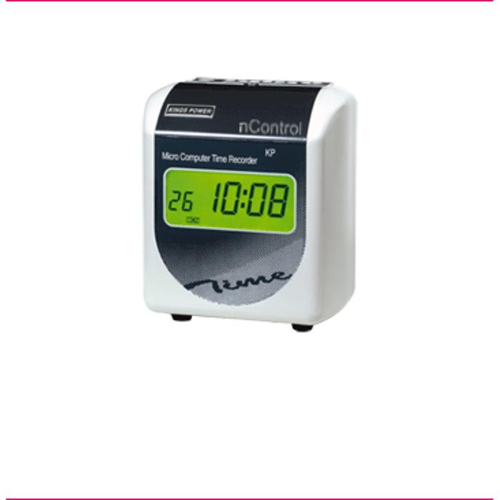 Relógio de Ponto NC 5500