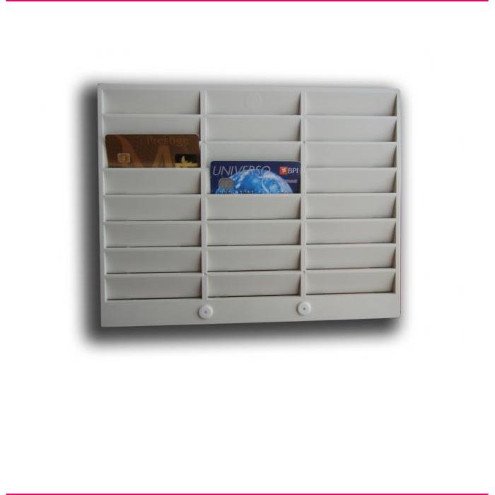 Porta Cartões PVC 24